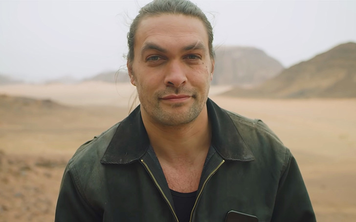 Jason Momoa's New Look After He Shaved His Famous Beard