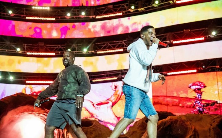 Check Out Kid Cudi Enlist Kanye West For Coachella Medley