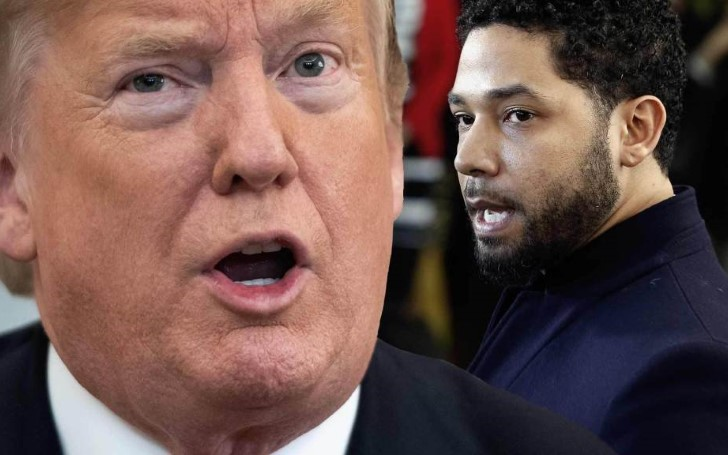 President Trump Calls 'Empire' Star Jussie Smollett 'Third-Rate Actor'