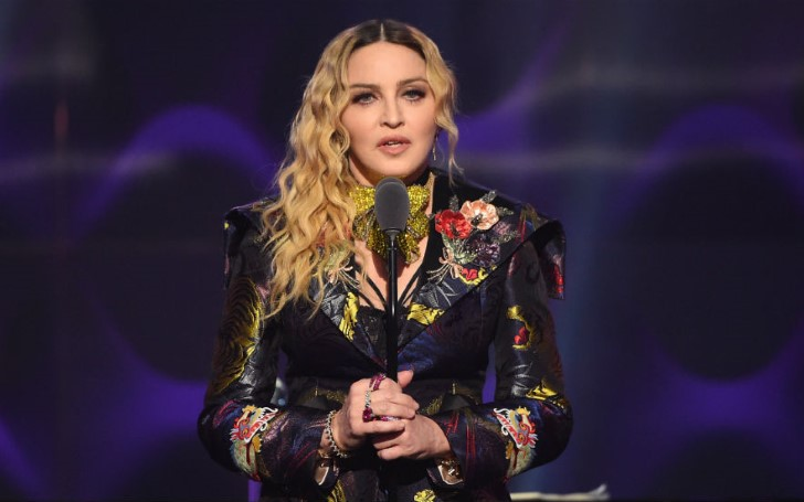 Madonna's Emotional Speech At GLAAD Awards
