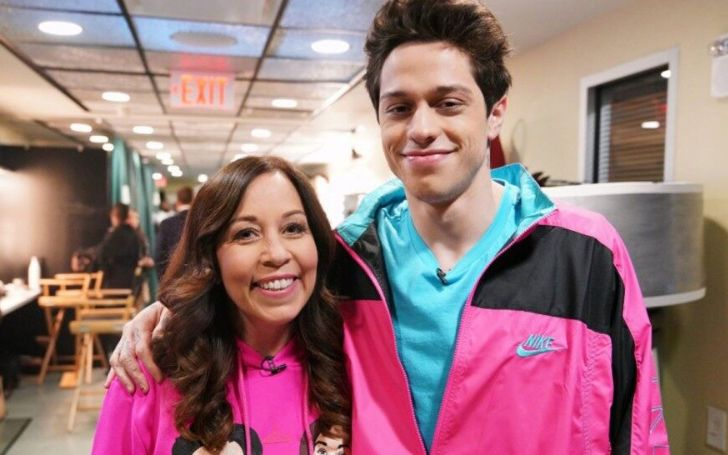Saturday Night Live: Pete Davidson Opens Up About Living With His Mom