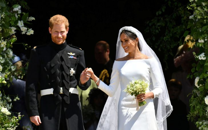 Meghan Markle And Prince Harry Stun Fans With Never-Before-Seen Wedding Pics On 1-Year Anniversary