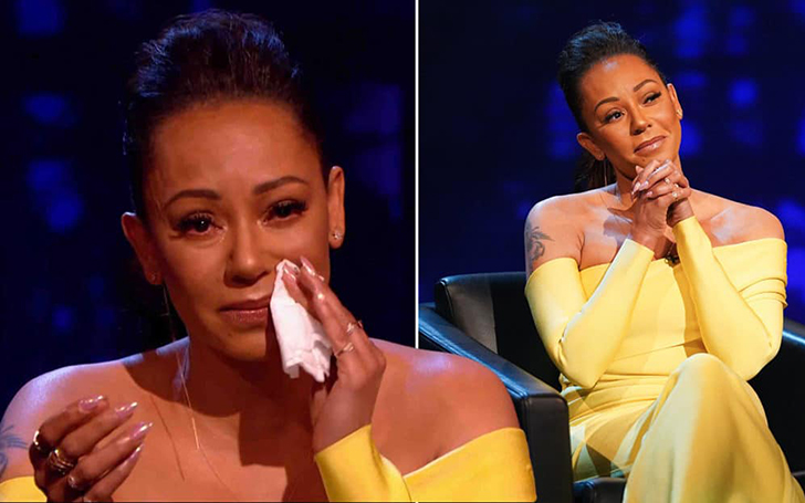 Mel B Praised By Viewers After Breaking Down In Tears During Chat On Piers Morgan's Life Stories