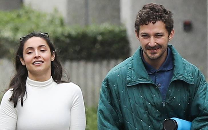 Shia Labeouf Along With Gal Pal Attended Kanye West's Sunday Service In Los Angeles