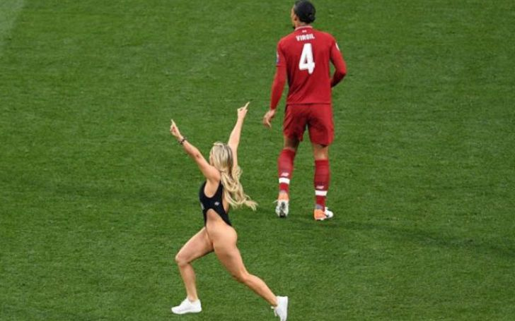 Who Is Champions League Final Pitch Invader Kinsey Wolanski? What's Her Boyfriend's X-Rated YouTube Show Vitaly Uncensored?