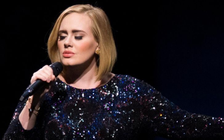 What is going on! Adele Goes WILD While Rapping To Nicki Minaj!