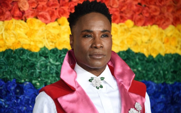 Billy Porter Makes a Statement Yet Again; Wore A Gender-Fluid Uterus Motif To Tony Awards