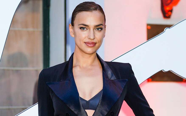 Moving On! Irina Shayk Posts Sexy Swimsuit Photo After News Of her Split with Bradley Cooper