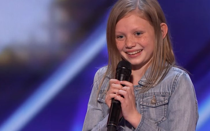 12-Year-Old Singer Ansley Burns Impresses Judges On America's Got Talent!