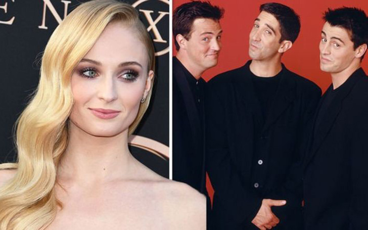 The Reason Sophie Turner Wanted To Date Friends Star Matthew Perry