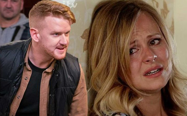Coronation Street Fans Left Horrified After Gary Windass Turned Violent With His Ex Sarah Platt