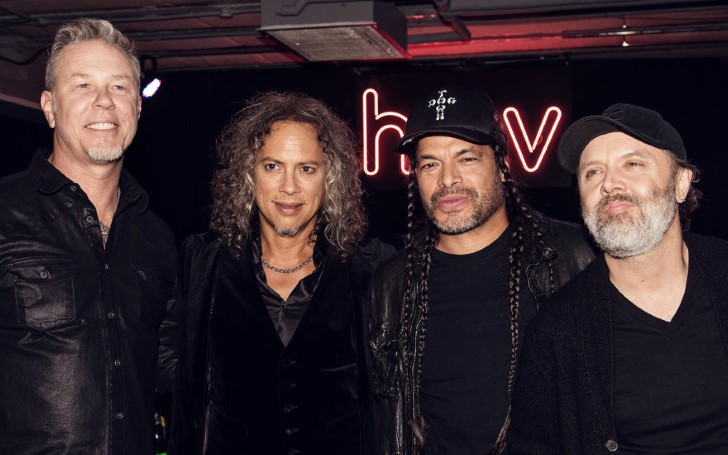 Metallica Were On The Brink Of Calling It Quits Before Receiving A Phone Call From The Rolling Stones