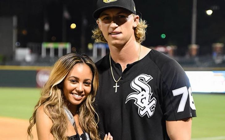 Michael Kopech Brielle Biermann's ex-boyfriend engaged to 'Riverdale' star Vanessa Morgan