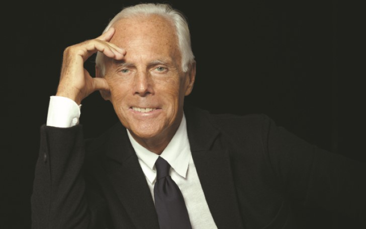 Fashion Designer Giorgio Armani Is Presenting Men S And Women S