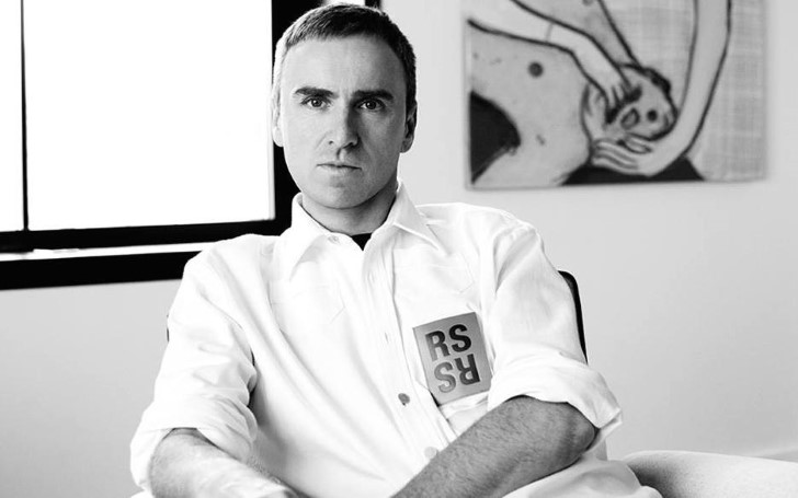 The Belgian Designer Raf Simons is Stepping Down From Calvin Klein