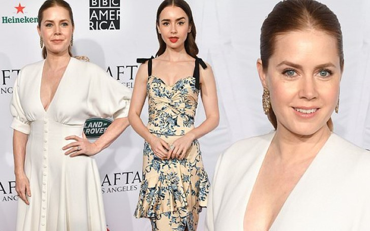 Amy Adams and Lily Collins Dazzled At Star-studded BAFTA Tea Party in LA