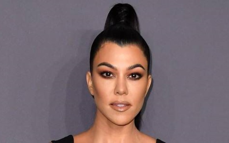 Reality Star Kourtney Kardashian Gave Fans Tease of Her Latest Project 'Poosh' Wearing Nothing But Towel
