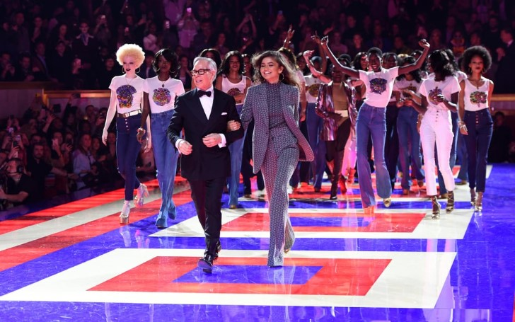 Zendaya's Tommy Hilfiger Show Displays Tribute to '70s Fashion, Fierce Females, with Endless Fun