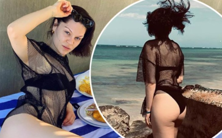 Jessie J Flaunts Her Cellulite on the Beach and Receives Tons of Appreciation From The Fans