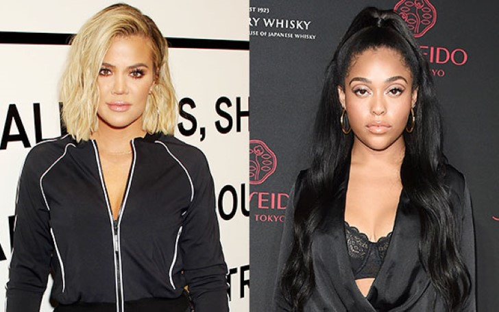 Khloe Kardashian Vs. Jordyn Woods: Long Peroxide Blonde Hair & A Skin-Tight Dress - Who Wore It Better?