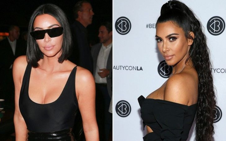 Keeping Up With The Kardashian Star Kim Kardashian Debuted Her New Long Hairstyle Fans Seems To Disappointed With The Hairstyle Glamour Fame