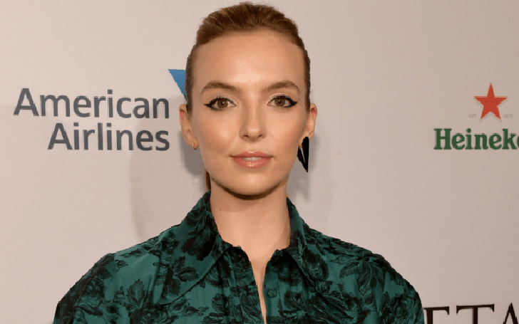 Jodie Comer Wows In Sexy Velvet Jumpsuit