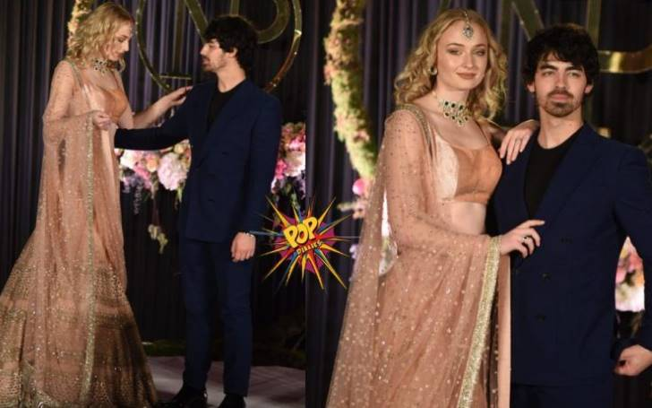 Sophie Turner Wedding.Check Out Sophie Turner S Wedding Outfit She Wore To Marry Joe Jonas