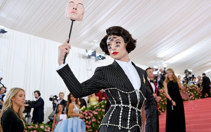 Do We Have Time to Discuss Ezra Miller's Met Gala Debut? It Was Definitely Extra Special!