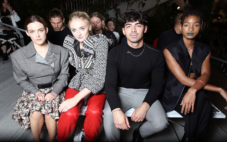 Check Out Sophie Turner, Emma Stone & More Stars In Black & White At Louis Vuitton Cruise Show