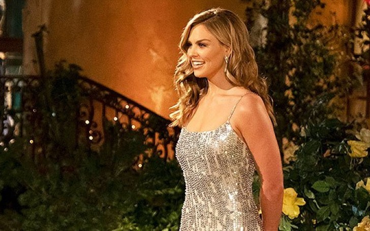 Hannah Brown Looks Stunning In Sparkling Silver Gown While Meeting Her Suitors On 'The Bachelorette'