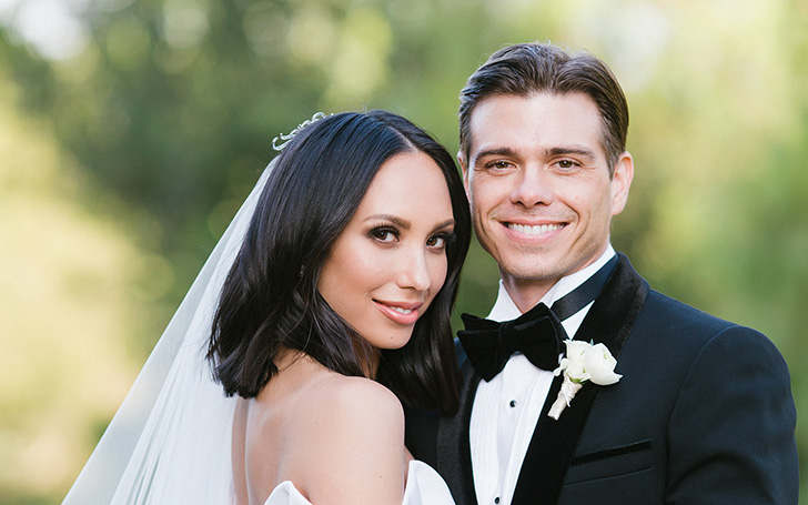 Dancing With The Stars Cheryl Burke and Matthew Lawrence Are Recently Married! Check Out Their Wedding Dresses