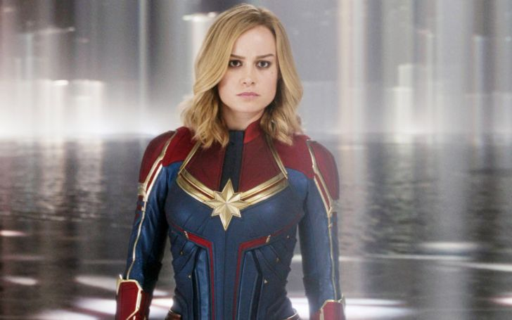 'Captain Marvel' Brie Larson Displays Impeccable Fashion Taste Wearing Black Bikini During Memorial Day Weekend