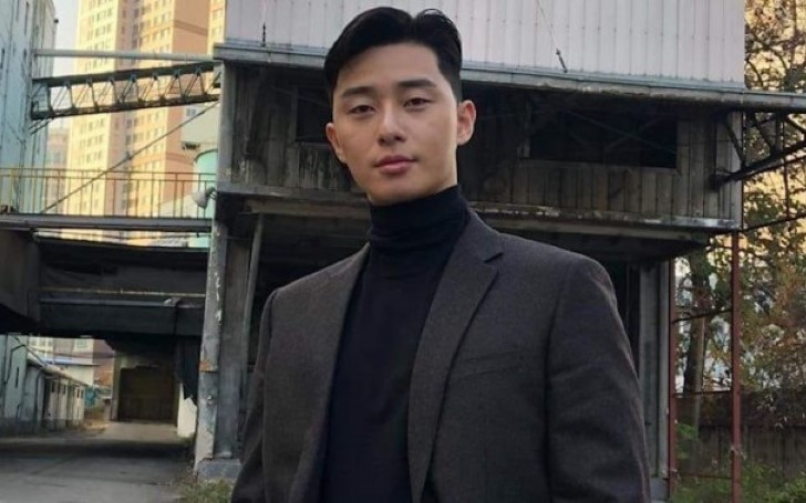 South Korean Actor Park Seo Joon Won The 2018 Star of Korean Tourism Award