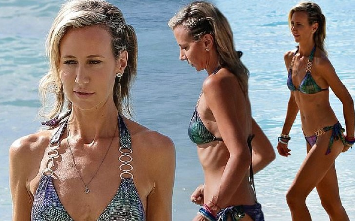 Lady Victoria Hervey Flaunted Her Sensational Figure While Soaking Up The Sun In Barbados