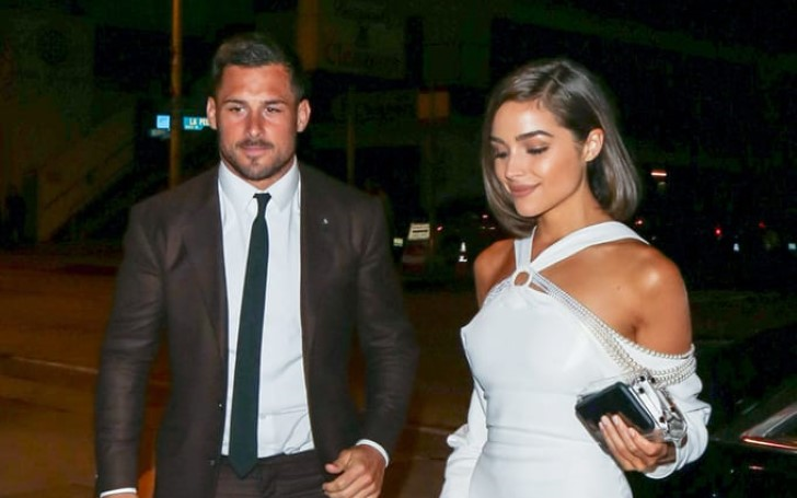 Olivia Culpo Rocked A Sexy White Bikini After Reuniting With Boyfriend Danny Amendola
