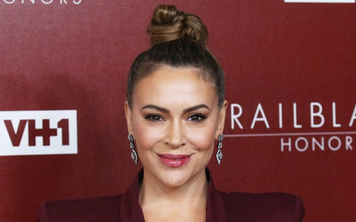 Alyssa Milano Gets Slammed For Calling Herself Transgender
