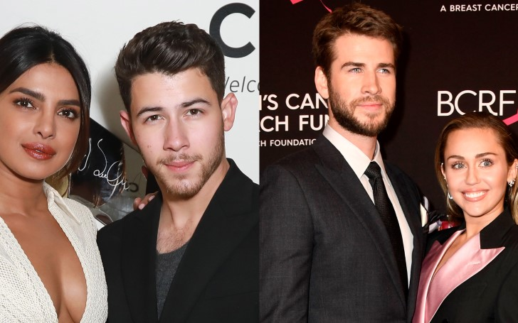 Nick Jonas and Priyanka Chopra Want To Go on a Double Date with Liam Hemsworth and Miley Cyrus
