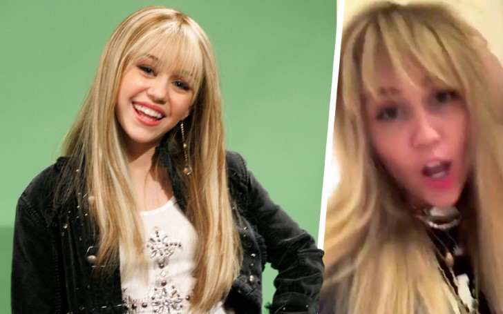 Miley Cyrus Dyes Her Hair To Look Like Her Famous Alter-ego Hannah Montana