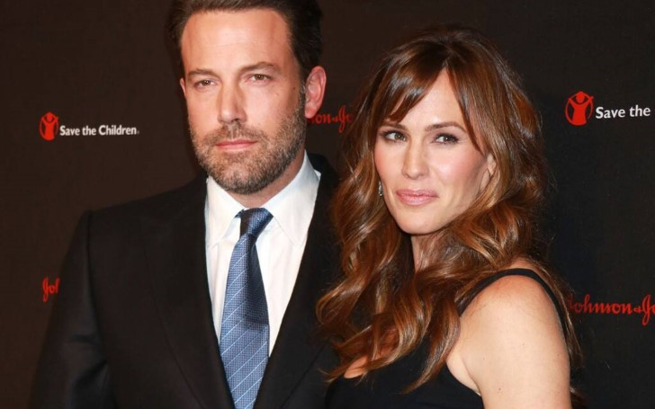 Jennifer Garner And Ben Affleck Seem To Be Getting Along Great As Co-parents; The Former Couple Smiled And Walked Together While Picking Their Kids Up After School
