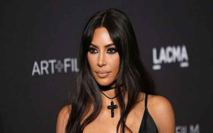 Kim Kardashian West Says Newborn Is 'Most Calm And Chill' Of All Her Kids