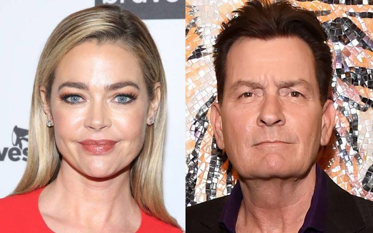 Denise Richards Revealed Ex Boyfriend Charlie Sheen Once Brought A Prostitute To Thanksgiving Dinner