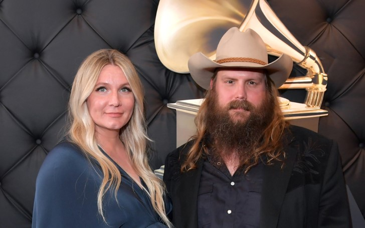 Country Singer Chris Stapleton And His Wife Morgane Reveal The Gender Of Their Fifth Child Along With The First Picture