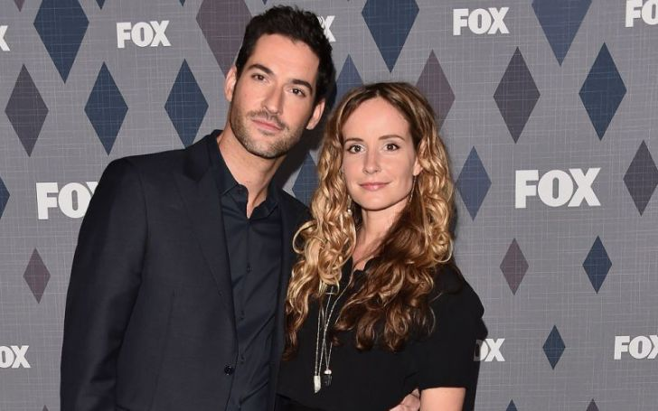 Lucifer Star Tom Ellis Ties The Knot With Longtime Writer Girlfriend Meaghan Oppenheimer