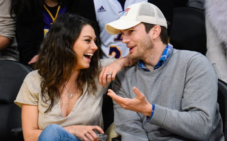 Ashton Kutcher And Mila Kunis Silence Divorce Rumors In A Hilarious Way!