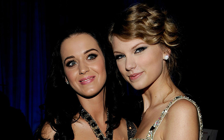 Taylor Swift Blames The Media For Conjuring Up Katy Perry Feud!