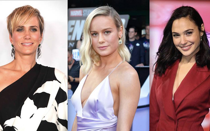 Is Brie Larson Really Feuding With Gal Gadot And Kristen Wiig?