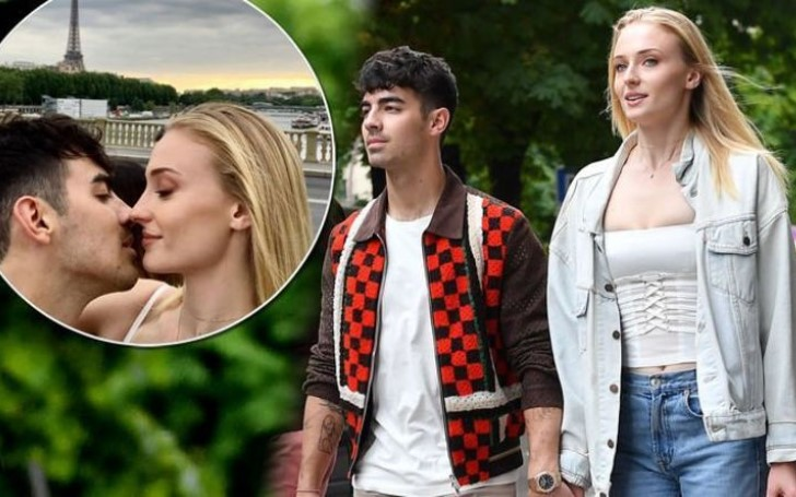 Sophie Turner And Joe Jonas Shared A Romantic Kiss In Paris Ahead Of Second Wedding!