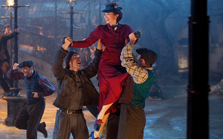 'Mary Poppins Returns' Became The Outright Winner of The UK Box Office on The Final Weekend of 2018