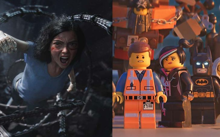 'Alita: Battle Angel' and 'Lego Movie 2' Set To Lead President's Day Weekend at the Box Office