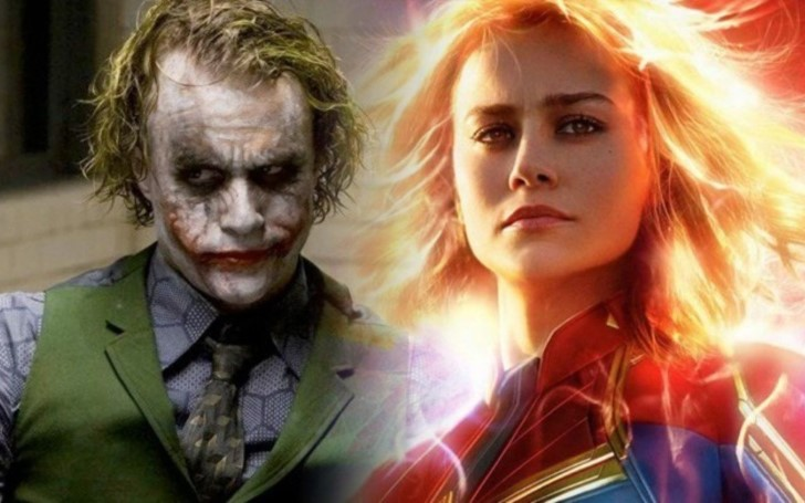 Captain Marvel Officially Defeats The Dark Knight At The Box Office